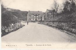 Jemelle - Avenue De La Gare - Animé - G.H. Edit. A. N. 780 - Rochefort
