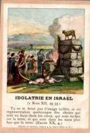 Image Pieuse : Idôlatrie En Israël - Images Religieuses