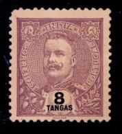 ! ! Portuguese India - 1903 D. Carlos 8 Tg - Af. 195 - No Gum - India Portoghese