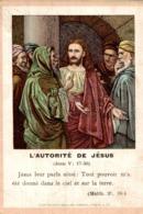 Image Pieuse : L'autorité De Jésus - Images Religieuses