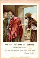 Image Pieuse : Philippe Prêchant En Samarie - Images Religieuses
