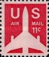 United-States - Silhouette Of Jet  -1971 - Etats-Unis