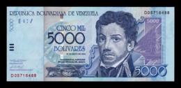 Venezuela 5000 Bolivares Francisco De Miranda 2004 Pick 84c SC UNC - Venezuela