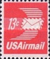 United-States - Winged Airmail Envelope  -1971 - Etats-Unis