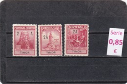 Timor Portugués  -  Serie Completa  - 9/4603 - East Timor