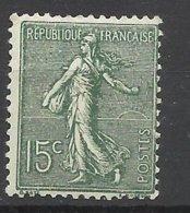 France  N° 130d   15c  Vert Gris Type V  Neuf  * *   TB   = MNH  VF     ....soldes à Moins De 15 %    ! ! ! - France