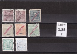 Timor Portugués  -  Lote  8  Sellos Diferentes  - 9/4604 - Osttimor