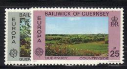 GUERNSEY 1977 , Serie Completa N. 142/143  *** MNH Europa - Europa-CEPT