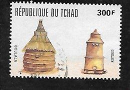 TIMBRE OBLITERE DU TCHAD DE 1995 N° MICHEL 1253 - Tchad (1960-...)