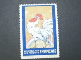 FRANCE Rare Grande Vignette Propagande 1914 - 1918  Type Delandre Achetez Aux Français Des Produits Français - Erinnofilia