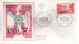 REF X20 : Enveloppe 1er Jour First Day Cover FDC : Signée Par Le Graveur Autographe : Phénix 1974 - Sin Clasificación