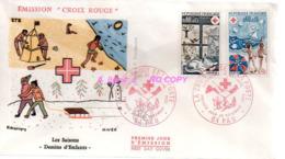 REF X20 : Enveloppe 1er Jour First Day Cover FDC : Croix Rouge 1974 PAU - Non Classificati