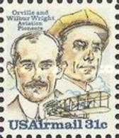 United-States - Aviation Pioneers - Wright Brothers   -1979 - Etats-Unis