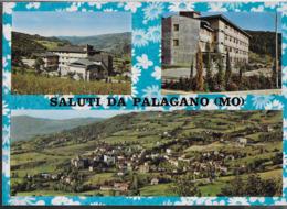 SALUTI DA PALAGANO (MO) - CASA PAPA GIOVANNI - VIAGGIATA 1970 - Saluti Da.../ Gruss Aus...