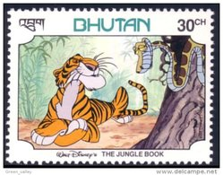 192 Bhutan Disney Serpent Snake MNH ** Neuf SC (BHU-38e) - Autres