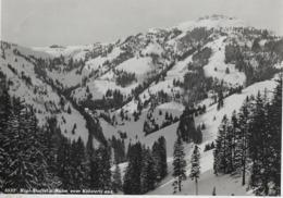 RIGI-STAFFEL UND KULM → Winterkarte Vom Klösterli Aus Gesehen Anno 1936 - SZ Schwyz