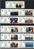 Uzbekistan 2006.Independence-15 (Flags,Politicians-Manmohan Singh,Fraiberga, Hu Jintao,Putin,). 11v. Michel # 636-46 - Ouzbékistan