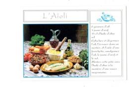 Cpm Recette Cuisine - AÏOLI - Carotte Artichaut Pois Chiche Huile Ail Carafe Vin Escargot Oeuf - Recettes (cuisine)