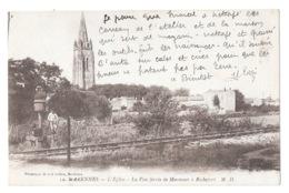 (24654-17) Marennes - L'Eglise - La Voie Ferrée De Marennes à Rochefort - Marennes