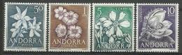 ANDORRA-CORREO ESPAÑOL  ESTOS SELLOS O SIMILARES Nº C. M. ABAD61/64 SIN FIJASELLOS ** - Nuovi