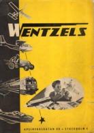 Catalogue WENTZELS HOBBYKATALOG 1950  Båtar Plan Järnvägar Tennfigurer  - En Suédois - Other