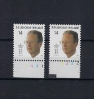 N°2382 (pltn°set) MNH ** POSTFRIS ZONDER SCHARNIER SUPERBE - Plate Numbers