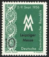 East Germany 1956 - Plauen Machine Made Lace, Dentelle, MNH - Ungebraucht