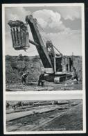AK/CP Pellworm Buphever  Deichbau 1938   Gel./circ.  1947  Erhaltung/Cond. 2  Nr. 00875 - Nordfriesland