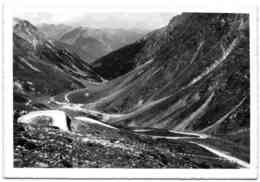 Umbrailstrasse - Blick Auf Sesvenna U. Tellagruppe - GR Graubünden