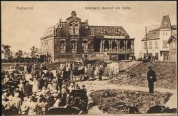 AK/CP Pellworm Gasthof Edlefsen Ungel./uncirc. Um 1920  Erhaltung/Cond. 2  Nr. 00877 - Nordfriesland