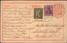 Germany - Inflation Postal Stationery, Ganzsache (P 141) Dettenschwang 12.5.1922 - Münster. - Enteros Postales