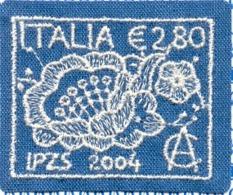 Italy 2004 - Machine Made Lace, Textile Stamp, Dentelle, MNH - 6. 1946-.. Republik