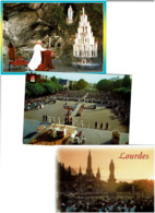 65 / LOURDES / Lot 900 C.P.M. écrites - Cartes Postales