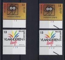 N°2277/2278 (pltn°set) MNH ** POSTFRIS ZONDER SCHARNIER SUPERBE - 1981-1990