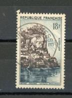 """FRANCE - BEYNAC-CAZENAC - N° Yvert 1127 Belle Obliteration De """"BOURG EN BRESSE """" De 1957 - France"""