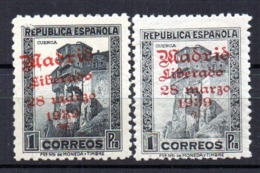 Sellos Nº 18/9 Madrid - Republikanische Ausgaben