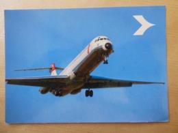 AUSTRIAN AIRLINES    MD 80   AIRLINE ISSUE / CARTE COMPAGNIE - 1946-....: Modern Era