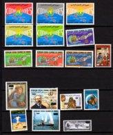 Comores 1985-92, Séries, Entre 426 /439** + PA 277 Et 506**+ BF 57 Et 64**+ (MI BK314-324-340**), Cote 140 €, - Comores (1975-...)