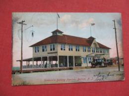Sanborn's Bathing Pavilion  Has Crease  Belmar     New Jersey >-----  Ref 3617 - Vereinigte Staaten