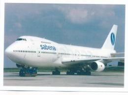 CP - Avion - Vliegtuig - Sabena - Boeing 747-228 - 1946-....: Era Moderna