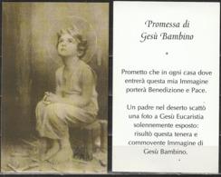 Santino - Promessa Di Gesù Bambino - Santini