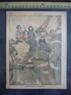 """Ancien Protège-cahier Couverture """"TRANSVAAL - BOMBARDEMENT DE LADY SMITH"""" (CAHIER COMPLET) - Protège-cahiers"""