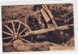Militaria Zerschossener Geschuetzstand An Der Somme - War 1914-18