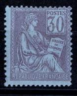 France Mouchon 1900-1902 - YT N° 115 - Neuf Avec Charnière - 1900-02 Mouchon