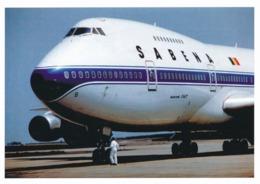 CP - Avion - Vliegtuig - Sabena - Boeing 747-100 - OO-SGB - 1946-....: Era Moderna