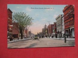 Main Street  Cortland New York  >-----  Ref 3617 - NY - New York