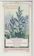 """CHROMOS - Chocolat D'Aiguebelle - Série """" Les Plantes Médicinales """" - Aiguebelle"""