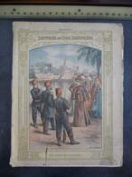 """Ancien Protège-cahier Couverture """"UN ACTE DE COURAGE..."""" (CAHIER COMPLET) - Protège-cahiers"""