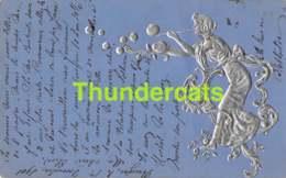 CPA ART NOUVEAU EN RELIEF GAUFREE EMBOSSED CARD ( RAPHAEL KIRCHNER ? ) - Kirchner, Raphael