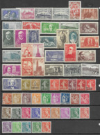 LOT DE 61 TIMBRES PERIODE 1900/1939. NEUFS - Frankreich